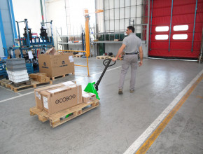 CE Low lifting hand pallet truck Cesab